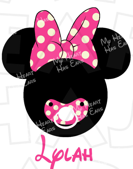 553x700 Minnie My Heart Has Ears