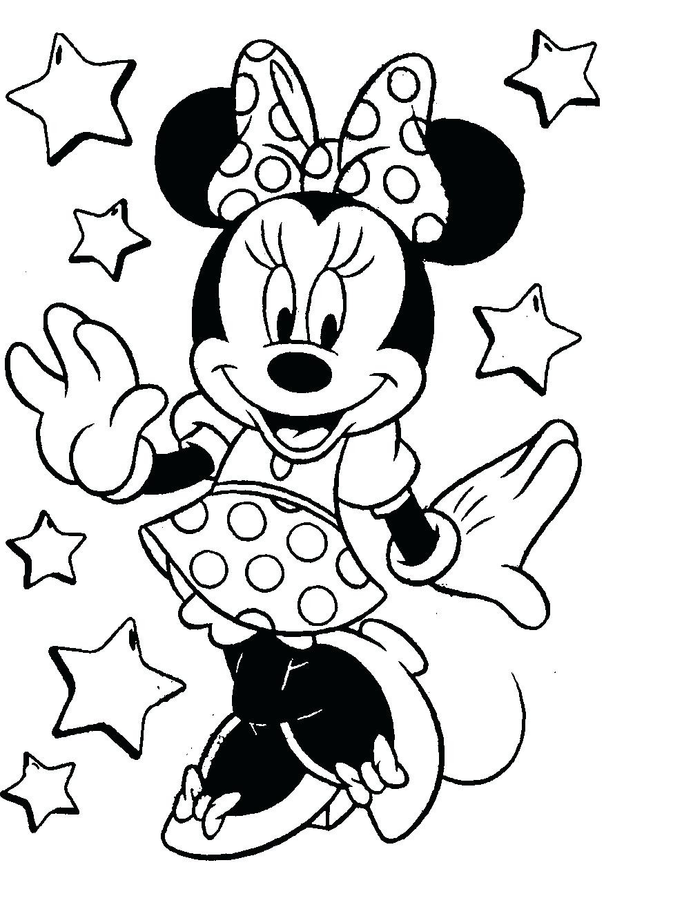 975x1323 Lovely Free Printable Minnie Mouse Coloring Pages Coloring Pages