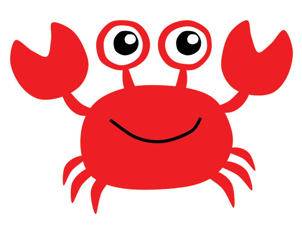 1000x773 Crab Clipart Printable