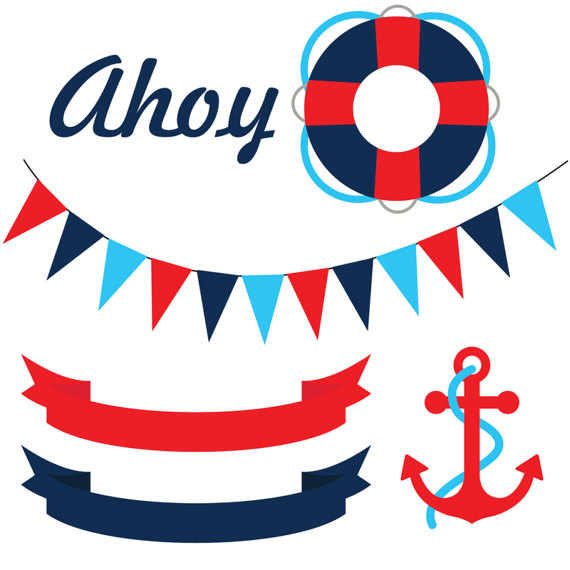 570x570 Navy Clipart Nautical Baby Shower