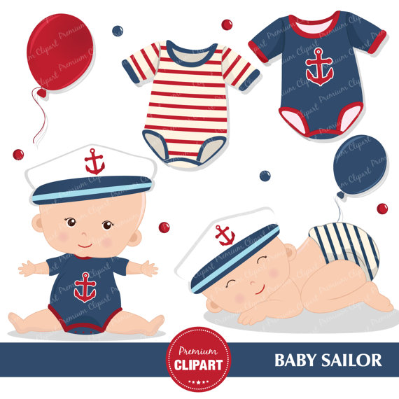 570x570 Sailing Boat Clipart Nautical Baby Shower