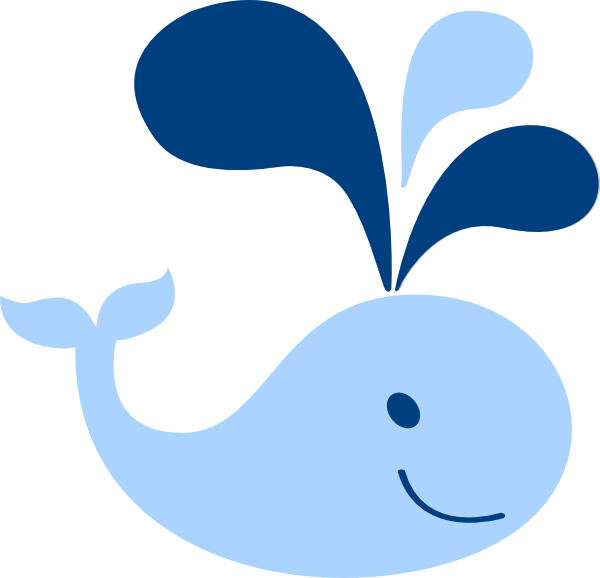 600x578 Whale Clipart Baby Boy