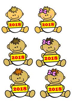 267x350 Baby New Year Clip Art By Carri3h3nry Ed Tech Teachers Pay Teachers