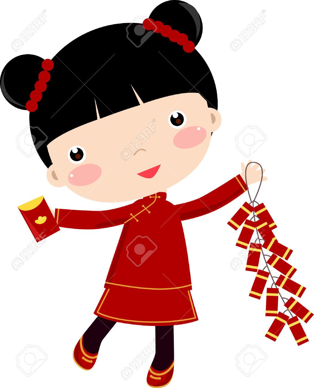 1053x1300 Chinese Children Clipart
