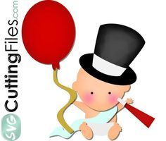 236x200 New Year's Baby Clipart
