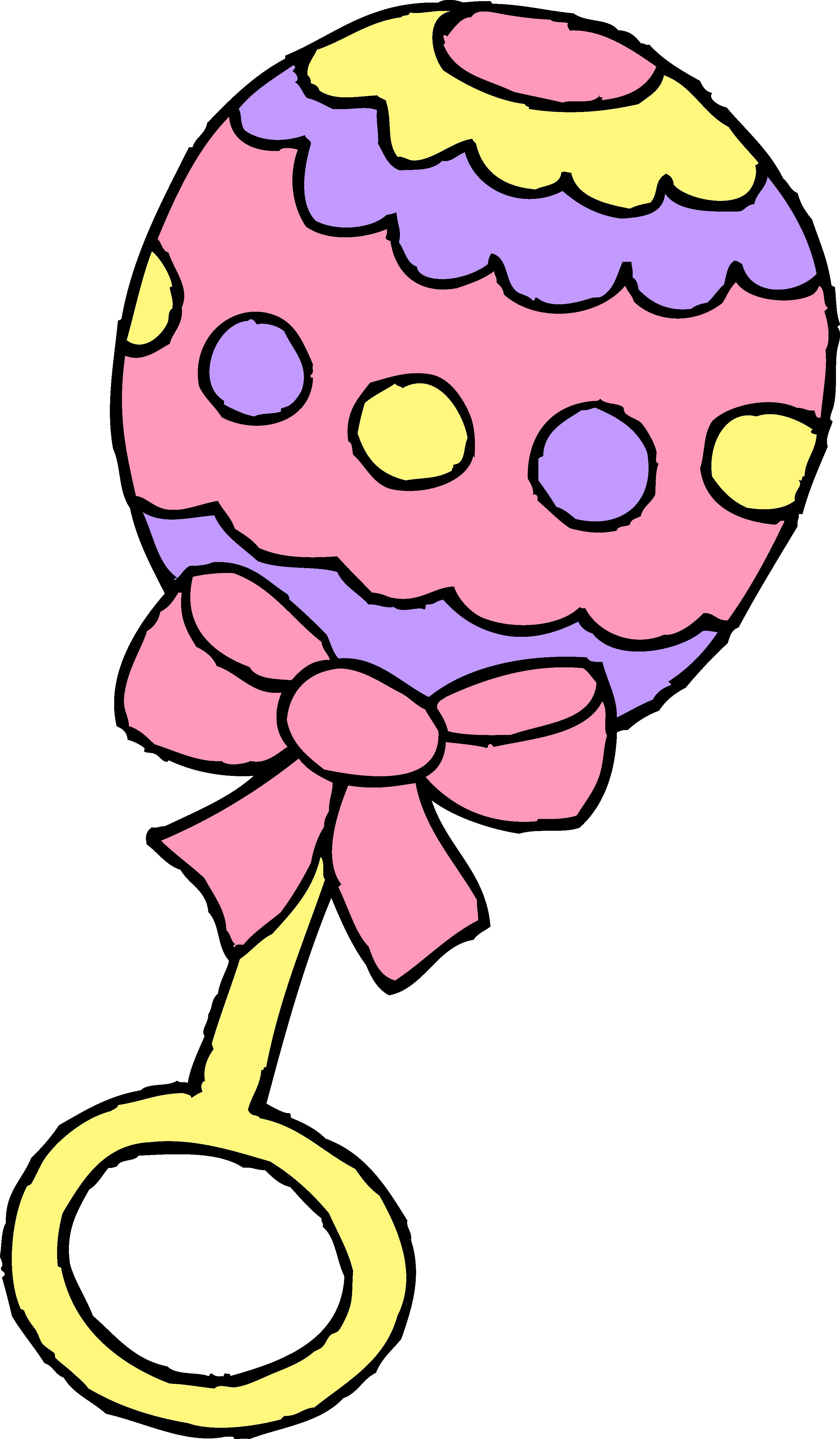 2913x4985 Pink Baby Girl Rattle