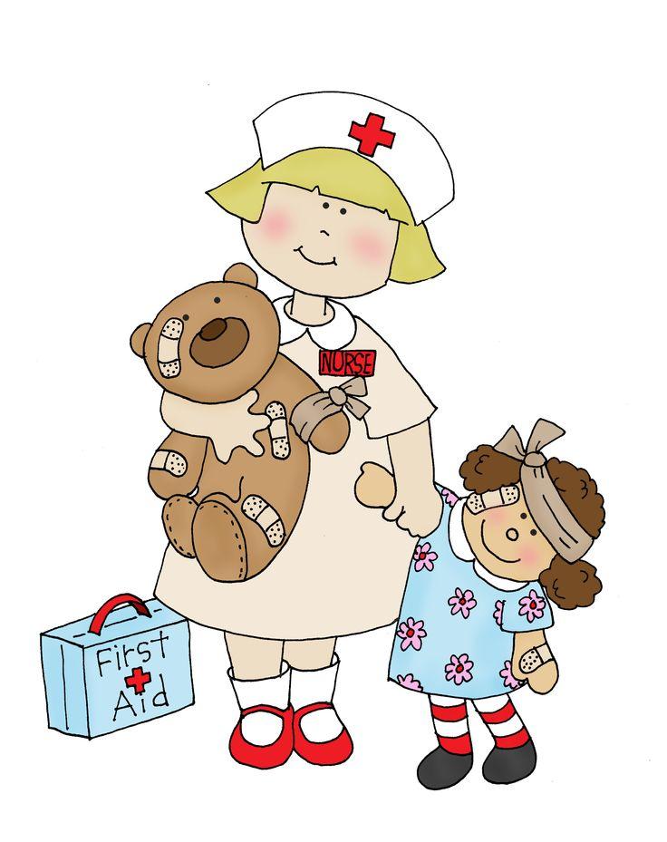 Baby Nurse Clipart