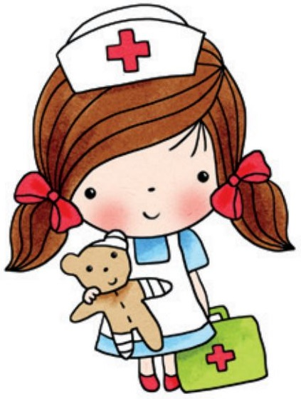 423x559 Nurse Doctor And Surgeon In Scrubs Clip Art By Collectivecreation
