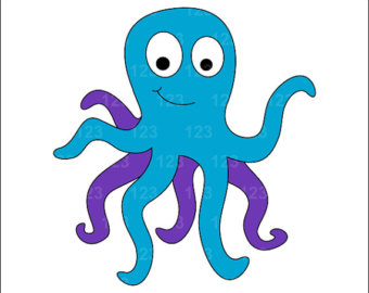 340x270 Free Octopus Clipart