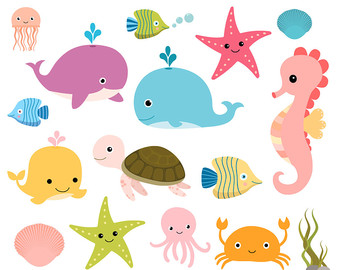 340x270 Ocean Animal Clipart Many Interesting Cliparts