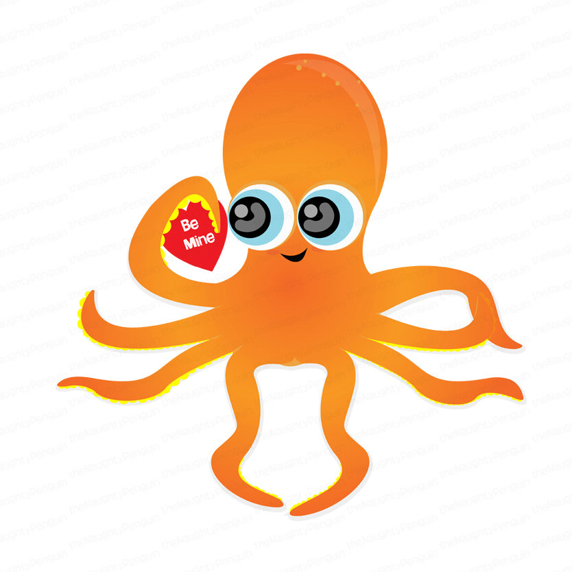 834x834 Octopus Clip Art Image Search Clipart Panda