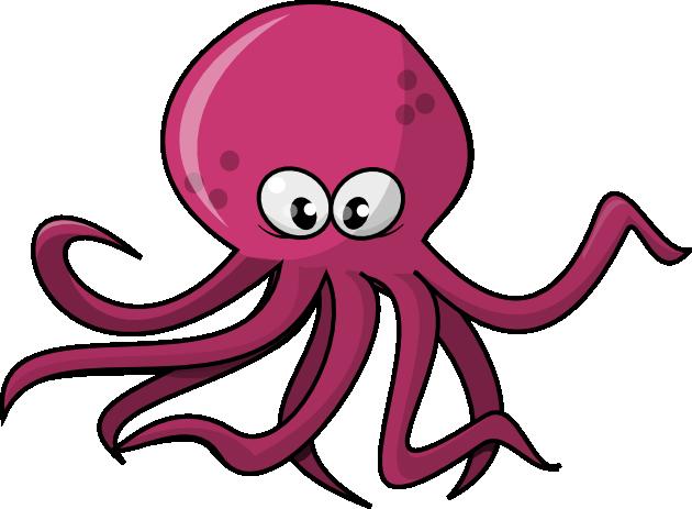 630x463 Octopus Clipart Clipart Panda