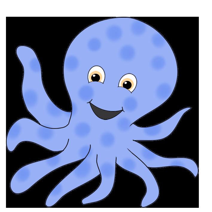 709x709 Octopus Clipart