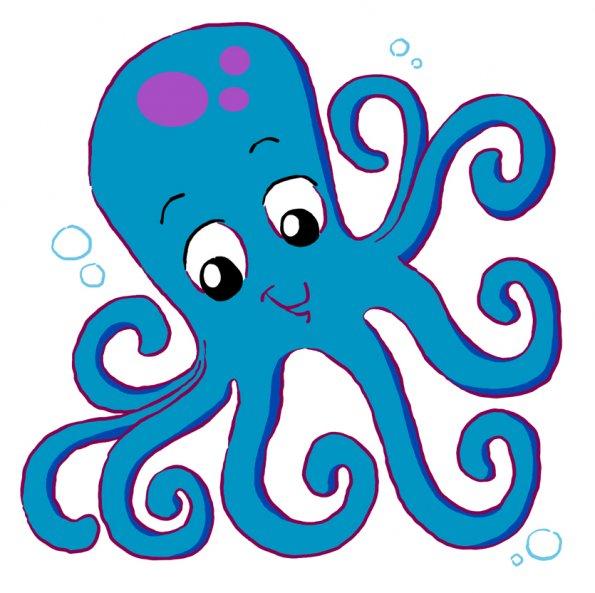 595x593 Octopus Clip Art Free Clipart Images