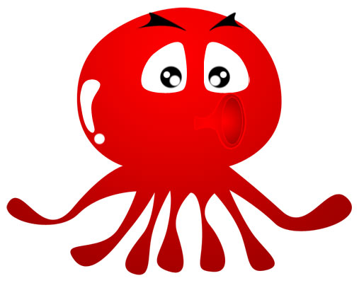 507x400 Octopus Clipart Image 4
