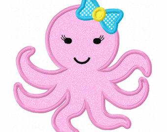 340x270 Octopus Clipart Template