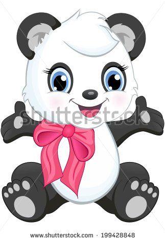 Baby Panda Clipart