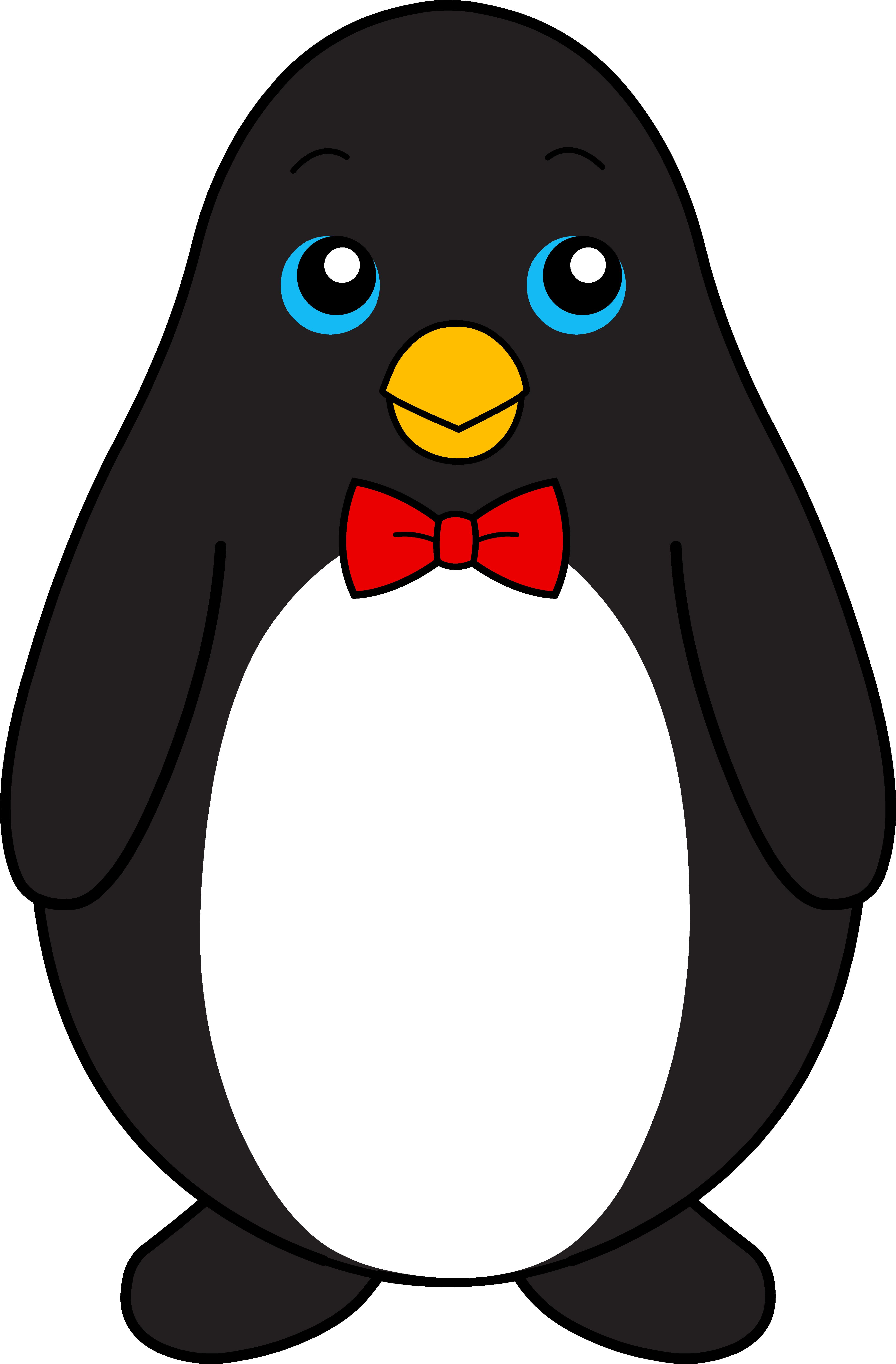 4583x6978 King Penguin Clipart Baby Penguin