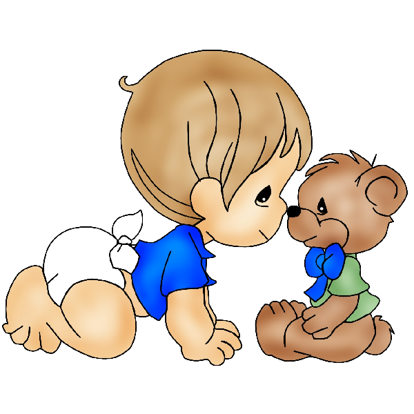 600x600 Baby Boy Cute Baby Shower Clip Art Cutestbabyshowers Clipartcow
