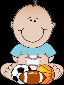 225x298 Sports Baby Clip Art