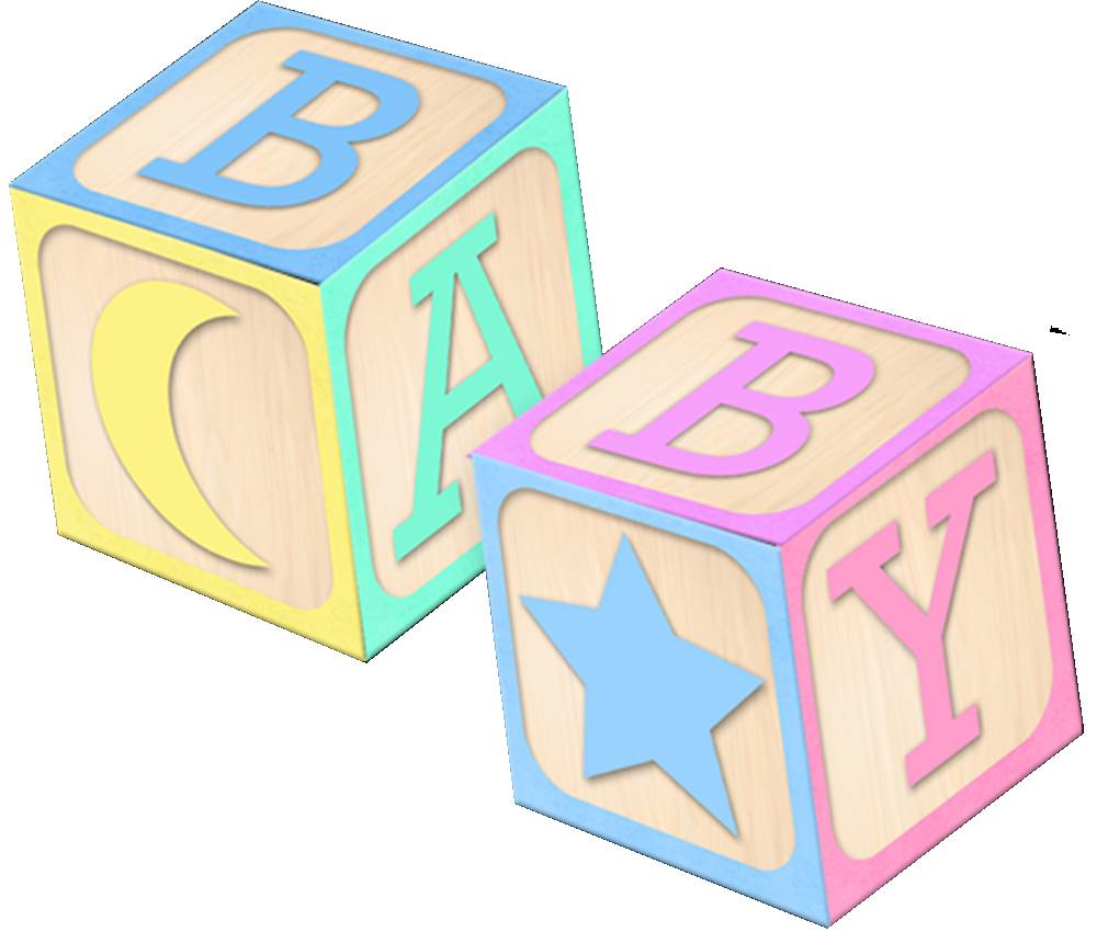 1000x850 Baby Blocks Clipart