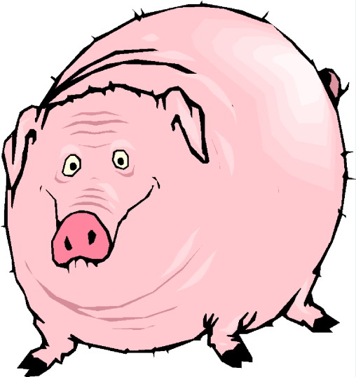 508x537 Fat Baby Pig Clipart