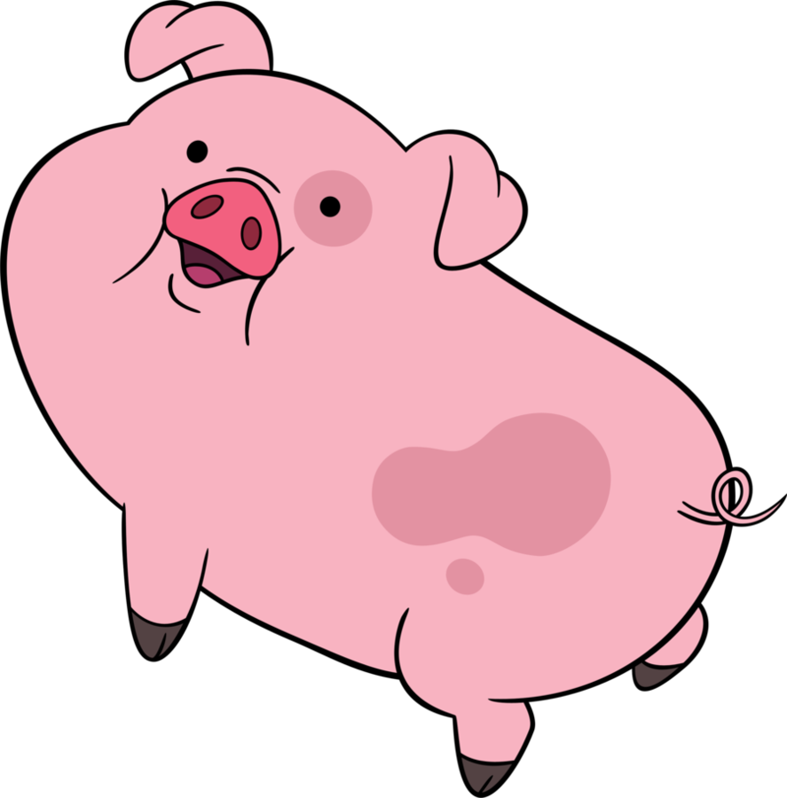 887x900 Fat Baby Pig Clipart