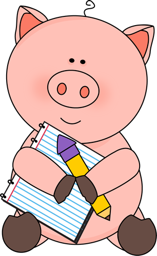 306x500 Free pig clip art from Clip art, Dibujos a