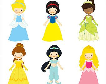 Baby Princess Clipart