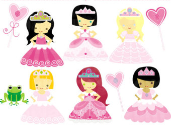 340x270 Baby Princess Clipart