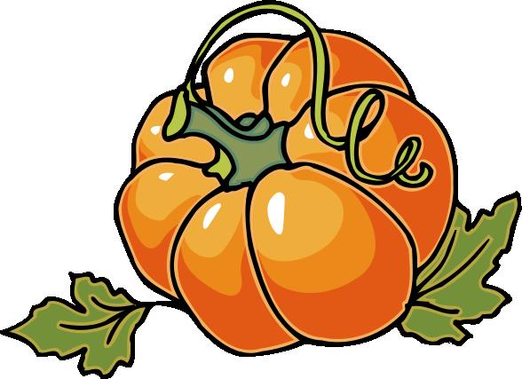 588x427 Cute Pumpkin Clip Art Free Clipart Images 10