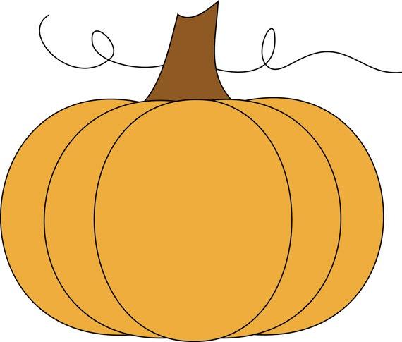 570x485 Pumpkin Clip Art 9