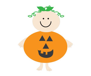 300x250 Pumpkin Clipart Baby Shower
