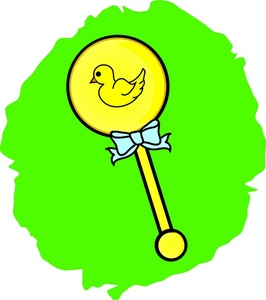 266x300 Baby Rattle Clipart Image