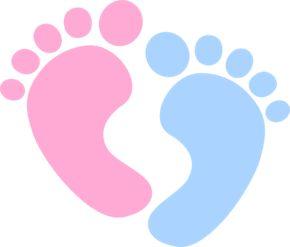 290x247 Baby Feet Clip Art