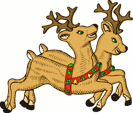 460x392 Clip Art Reindeer Many Interesting Cliparts