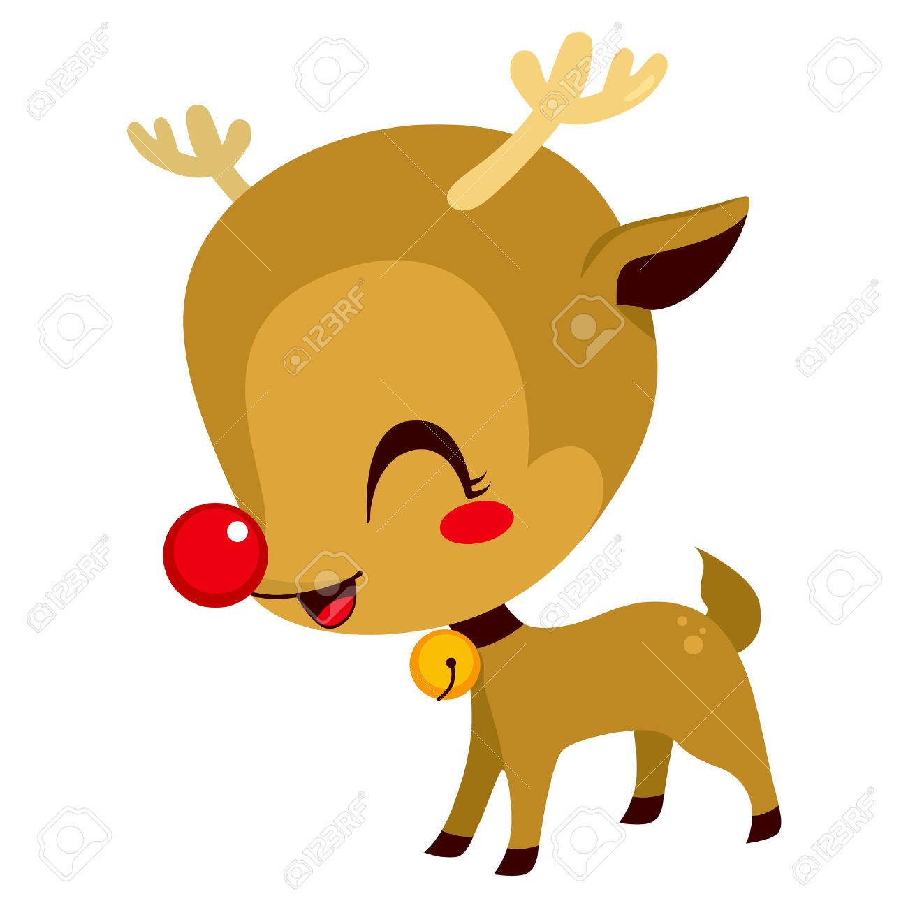 1300x1300 Reindeer Clipart Adorable