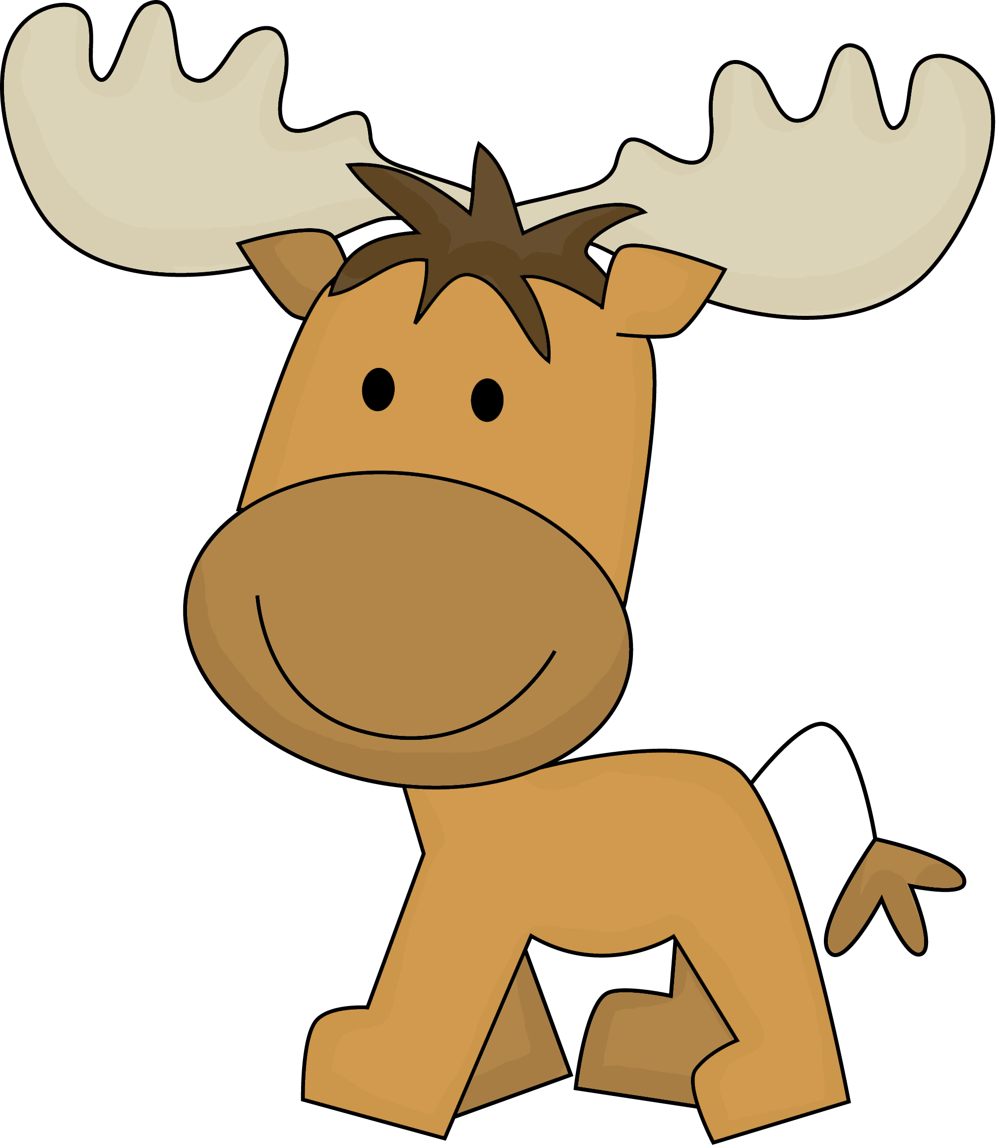 2008x2313 Baby Animal Clipart Moose