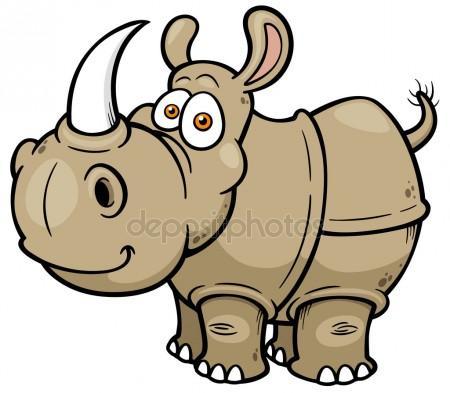 450x393 Rhino Strong Stock Vectors, Royalty Free Rhino Strong