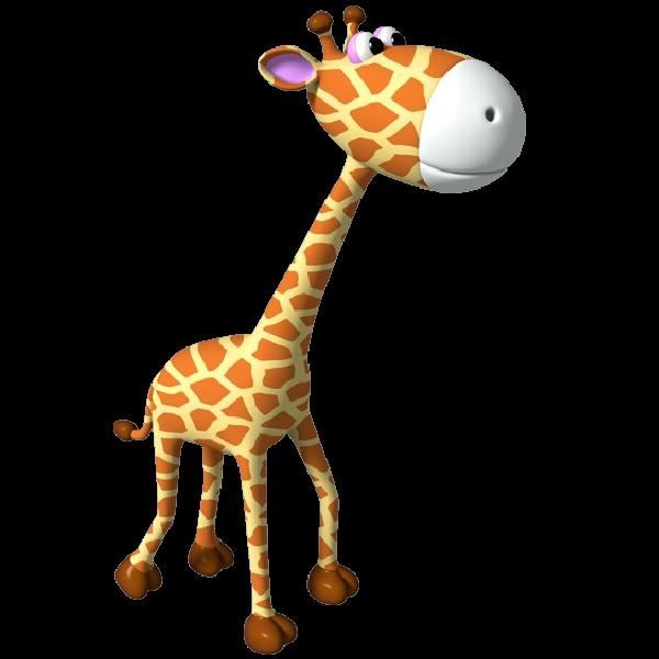 600x600 Simple Giraffe Outline Cute Giraffe Clipart Applique Image