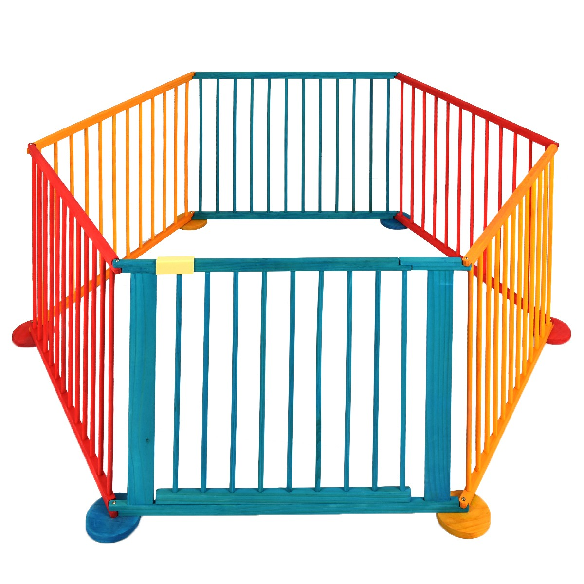 1200x1200 Child Baby Children Wooden Playpen Play Pen Room Divider Heavy