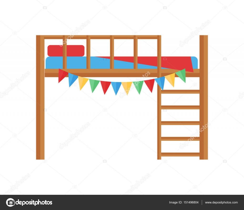 1024x883 Comfortable Bunk Bed Cozy Baby Room Decor Children Bedroom