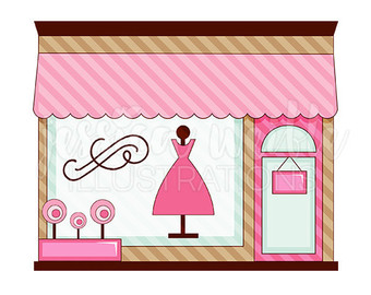 340x270 Dress Up Baby Girl Cute Digital Clipart Toddler Girl Clip
