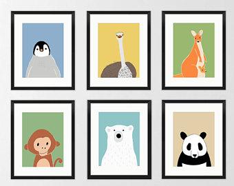 340x270 Monkey Nursery Decor Etsy