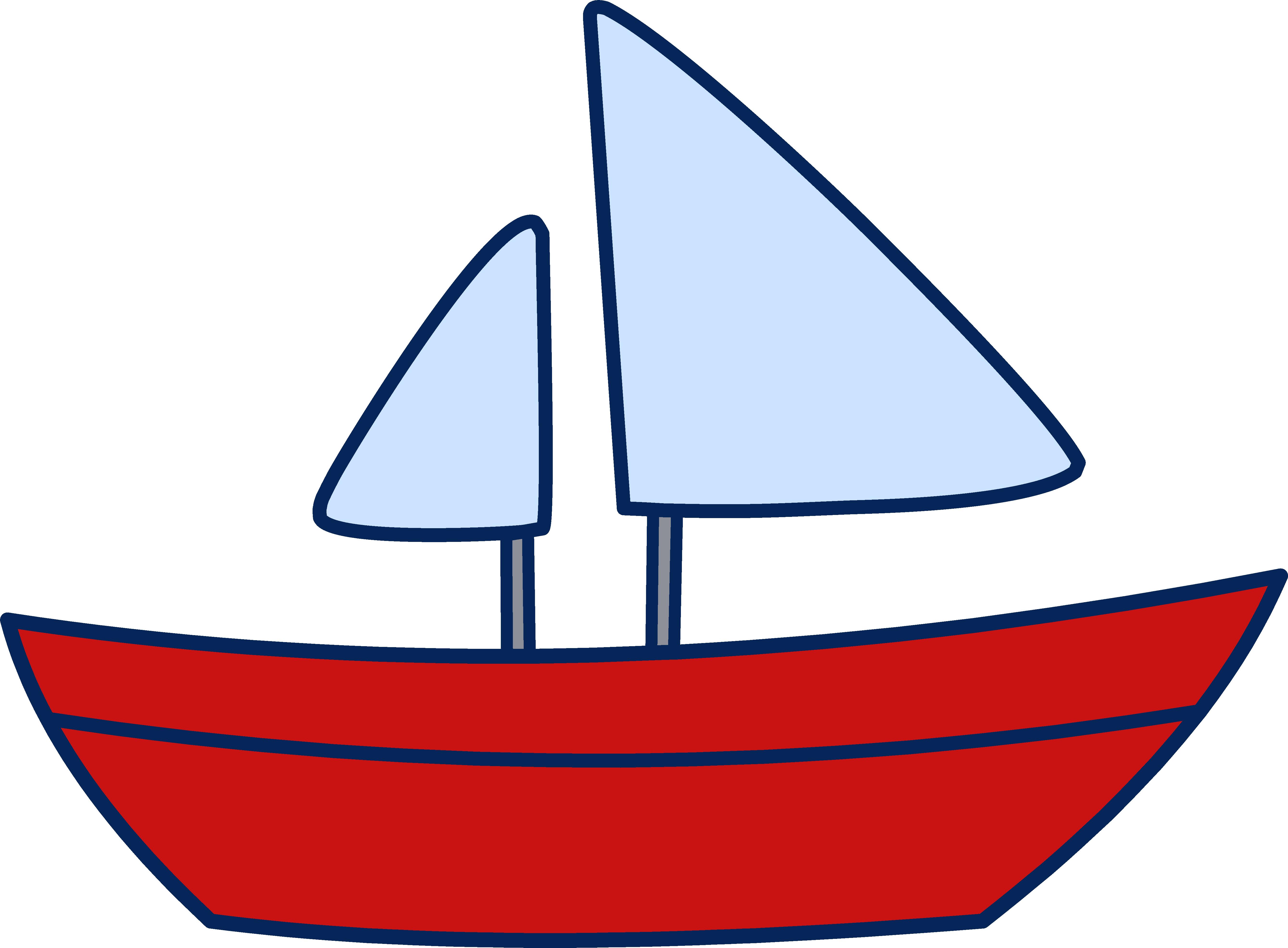 5357x3945 Sailboat Clipart For Baby Boy Clipart Panda
