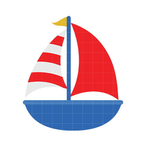 504x504 Sailboat Clipart Nautical