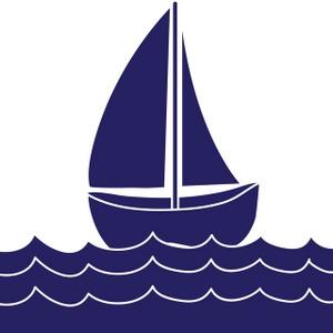 300x300 Sailing Ship Clipart Blue Baby