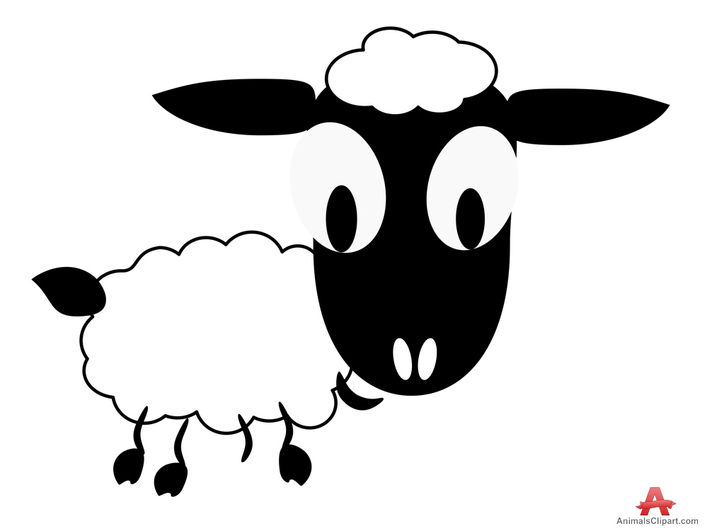 999x750 Clipart Of White Baby Sheep Free Clipart Design Download