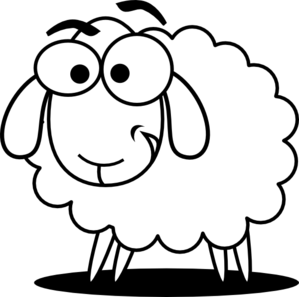 299x297 Sheep Clip Art