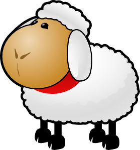 279x299 Sheep Clip Art